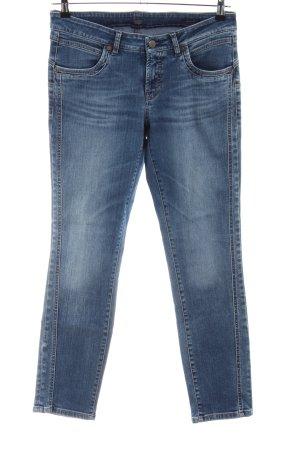 Cambio Jeans Jeans vita bassa blu stile casual