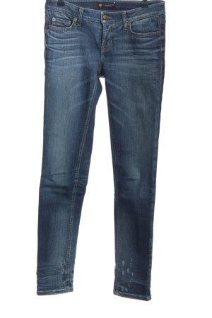 Cambio Jeans Hüftjeans blau Casual-Look