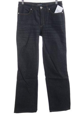 Cambio Jeans Hüftjeans dunkelblau Jeans-Optik