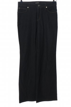 Cambio Jeans Jeansowe spodnie dzwony czarny W stylu casual