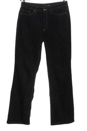 Cambio Jeans Jeans a zampa d'elefante nero stile casual