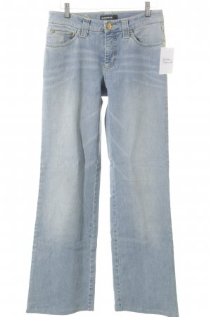 Cambio Jeans Jeans a zampa d'elefante verde pallido-azzurro stile jeans