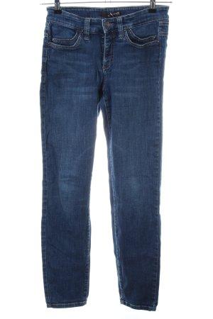 Cambio Jeans Karottenjeans blau Casual-Look
