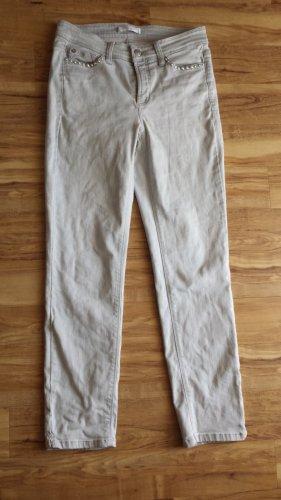 Cambio Jeans mit Perlen