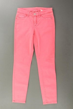 Cambio Jeans skinny rose clair-rose-rose-rose fluo coton