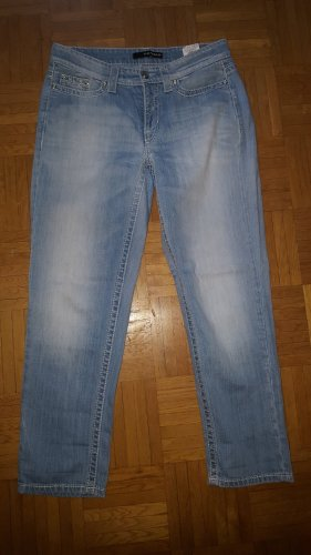 Cambio Jeans Vaquero estilo zanahoria azul celeste