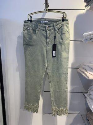 Cambio Jeans Jeansy 7/8 khaki