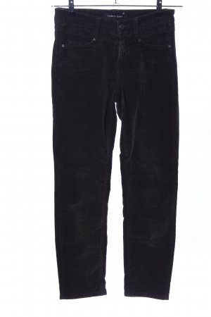 Cambio Jeans Röhrenhose schwarz Casual-Look