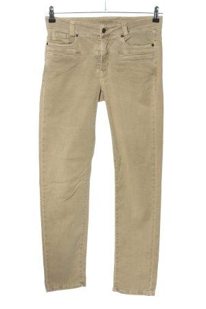 Cambio Jeans Röhrenhose wollweiß Casual-Look