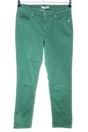 Cambio Jeans Röhrenhose grün Casual-Look
