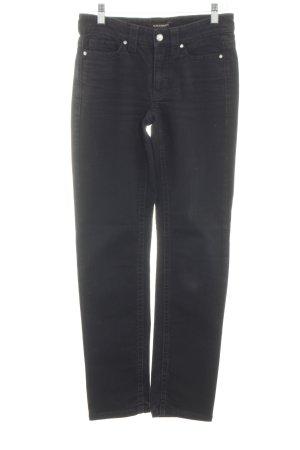 Cambio Jeans Jeans cigarette noir style décontracté