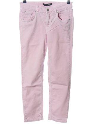 Cambio Jeans Jeansy rurki różowy W stylu casual
