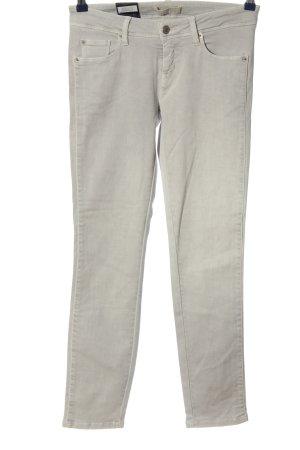 Cambio Jeans Jeansy rurki jasnoszary W stylu casual