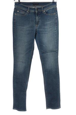 Cambio Jeans Jeansy rurki niebieski W stylu casual