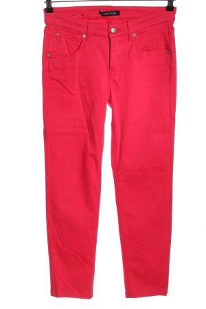 Cambio Jeans Jeansy rurki czerwony W stylu casual