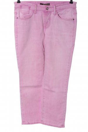 Cambio Jeans Röhrenjeans pink Casual-Look