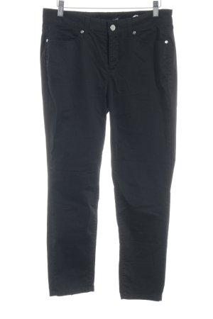 Cambio Jeans Röhrenjeans schwarz Casual-Look
