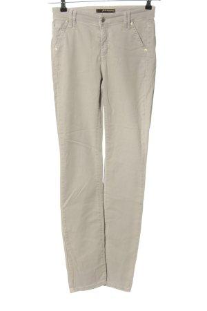 Cambio Jeans Jeansy o obcisłym kroju w kolorze białej wełny W stylu casual