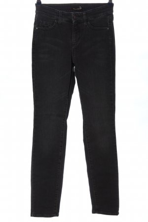 Cambio Jeans Jeansy o obcisłym kroju czarny W stylu casual
