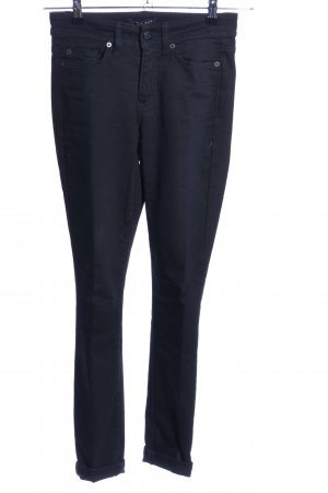 Cambio Jeans Jeansy o obcisłym kroju niebieski W stylu casual