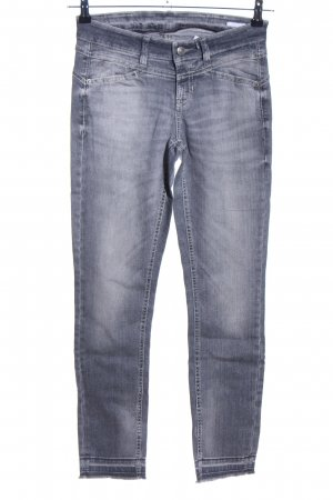 Cambio Jeans Skinny Jeans hellgrau Casual-Look