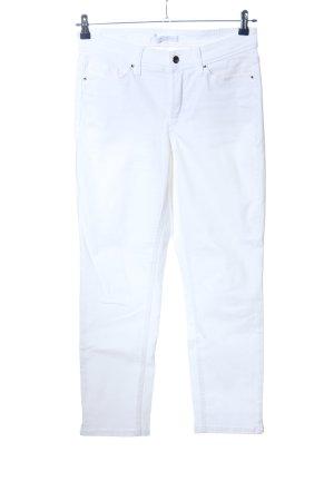 Cambio Jeans Jeansy o obcisłym kroju biały W stylu casual