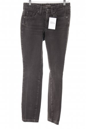Cambio Jeans Skinny Jeans graubraun Casual-Look