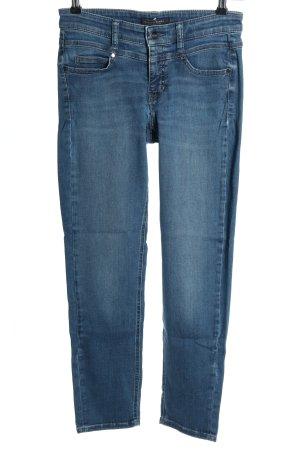 Cambio Jeans Dopasowane jeansy niebieski W stylu casual