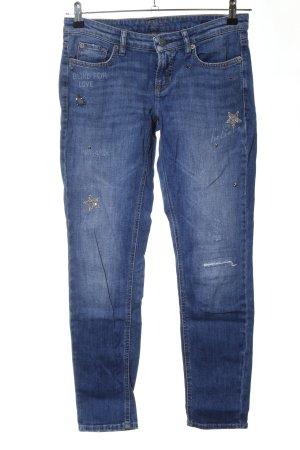 Cambio Jeans Slim Jeans blau Elegant