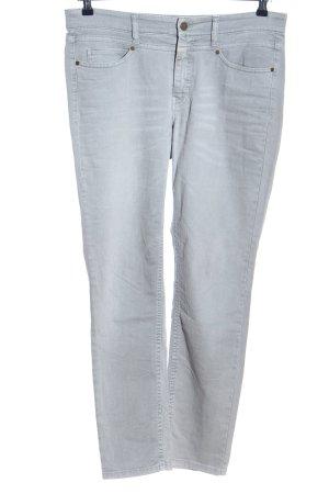 Cambio Jeans Slim Jeans hellgrau Casual-Look