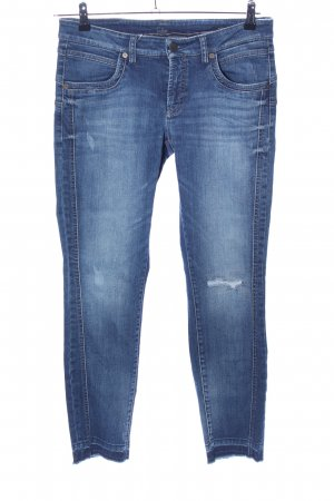 Cambio Jeans Slim jeans blauw casual uitstraling