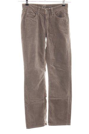 Cambio Jeans Stoffhose braun Casual-Look