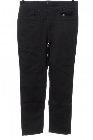 Cambio Jeans Stoffhose schwarz Casual-Look