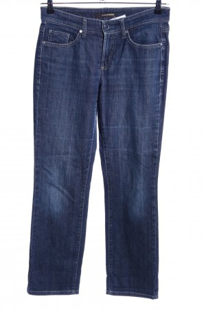 Cambio Jeans Straight-Leg Jeans blau Casual-Look