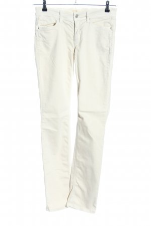 Cambio Jeans Straight-Leg Jeans wollweiß Casual-Look