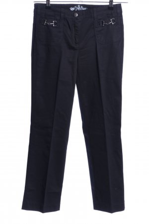 Cambio Jeans Straight-Leg Jeans schwarz Business-Look