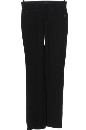 Cambio Jeans Jeansy z prostymi nogawkami czarny W stylu casual