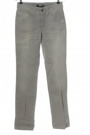 Cambio Jeans Jeansy z prostymi nogawkami jasnoszary W stylu casual