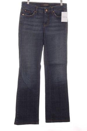 Cambio Jeans Jeansy z prostymi nogawkami ciemnoniebieski W stylu casual