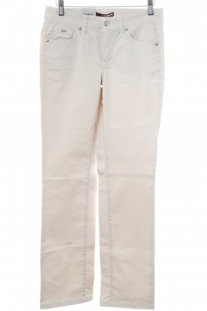 Cambio Jeans Straight-Leg Jeans hellbeige Casual-Look