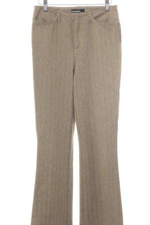 Cambio Jeans Stretchhose goldfarben-schwarz Glitzer-Optik