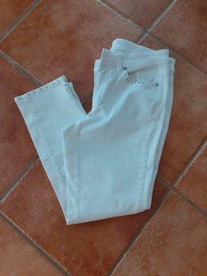 Cambio Jeans a 3/4 bianco