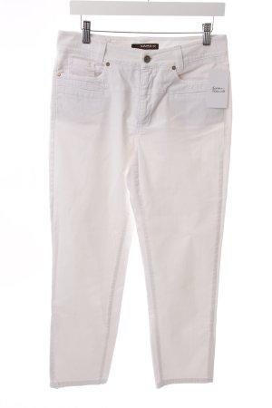 Cambio Jeans Weiß zusätzliche Taschen