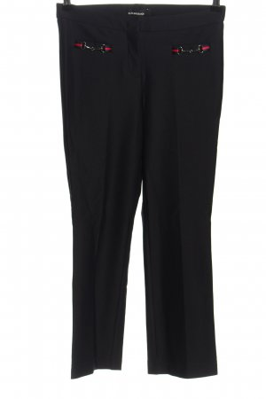 Cambio Peg Top Trousers black business style