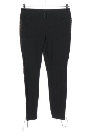 Cambio Pantalon fuselé noir style décontracté