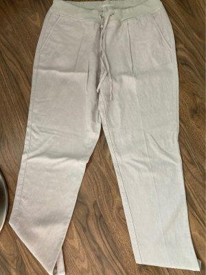 Cambio Linen Pants natural white