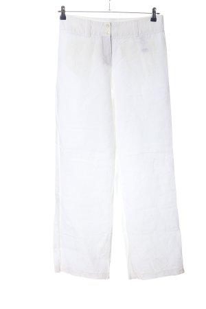 Cambio Pantalón de lino blanco look casual