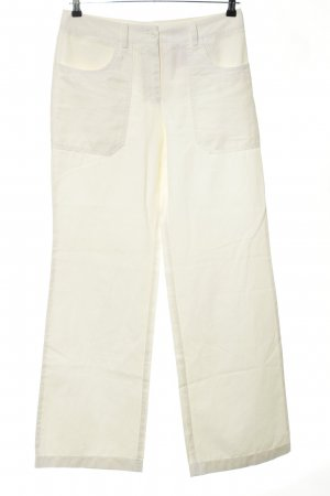 Cambio Linen Pants white casual look