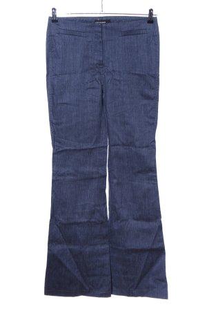 Cambio Pantalone di lino blu modello web stile casual