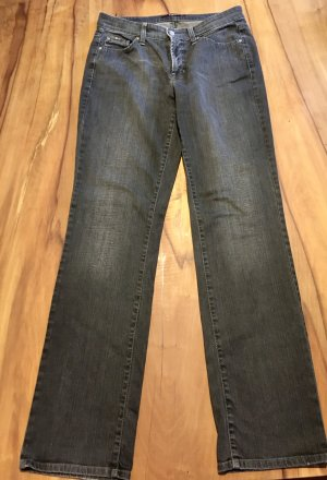 Cambio Jeans Hoge taille jeans antraciet-donkergrijs Katoen
